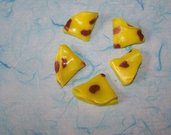 mini pancakes fimo for scrapbooking or jewelry