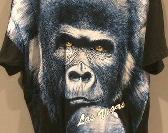 1993 gorilla Las Vegas tshirt