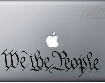 We the People Decal 12x3in.