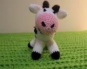 Amigurumi Vaca : Items similar to amigurumi cow cow amigurumi vaca amigurumi vaca a