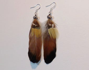 Natural feathers, handmade!