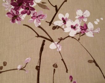 coupon fabric patchwork 50 X 50 cm / blossoms