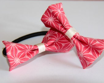 SET 2 GIRL WITH PINK BOW TIES