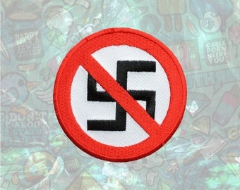 Anti Nazi Patch Love Patch Peace Patch Iron on Patch Sew On Patches