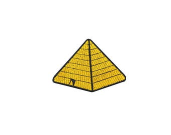 Pyramid Patch Sphinx Patch Egypt civilization Patch Iron on Patch Sew On Patches