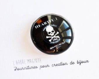 """""""Fancy 25 mm skull cabochon * craftsmanship"""" ref 562"""