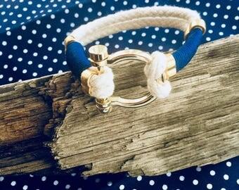 Nautical Style Rope Bracelet