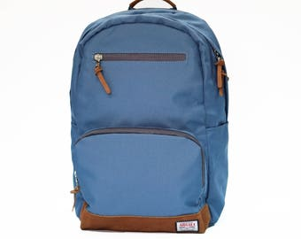 Fossa Backpack SKY BLUE, Backpack Men, Nylon Backpack, Backpack laptop, Large volume backpack