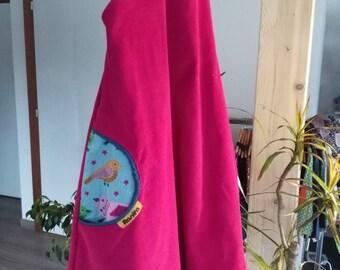 Summer velvet dress 8 years