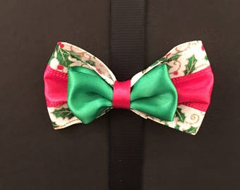 Red Holly Bow