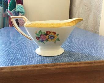 Vintage floral jug.