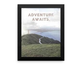 Adventure Awaits Bridge Print