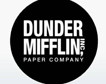 Dunder Mifflin  Decal/Sticker (for pop-socket) with Free Shipping
