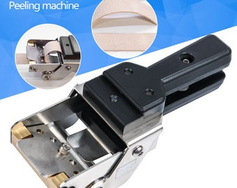 FREE SHIPPING Leather splitter / Skiving machine / Peeling machine / Paring machine / Leather skiver Vegetable tanning Scrape thin tool