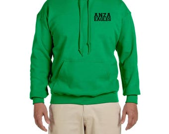 Anza Youth Hooded Sweatshirt, Anza Elementary, Spirit Wear, Redondo Beach