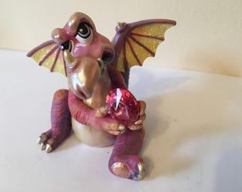 "Franklin Mint Mood Dragon - ""Huffy"""