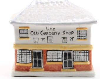 Staffordshire The Old Curiosity Shop Piggy Bank