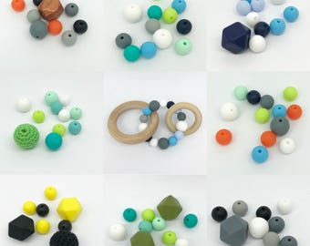Wooden Teethers || Natural || Silicone || Trinity Teether