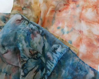 Silk scarf, hand painted scarfs, abstract scarf, women scarf, scarfshawl, scarf silk, scarves silk, scarf shawl.