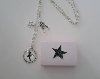 Prima ballerina necklace and gift box