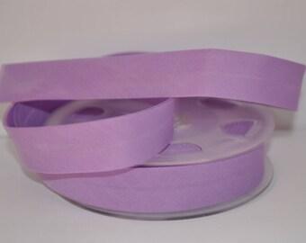 bias bound by 2 meters in violet light 591 2cm / 20mm wide DMC Fillawant