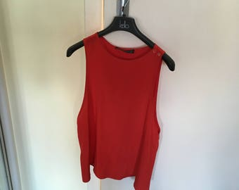 Louis Feraud red top