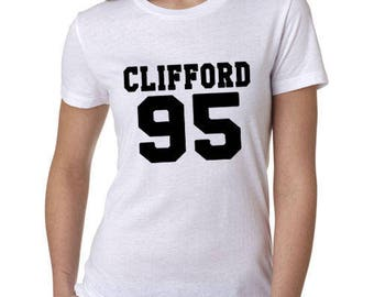 Clifford 95 5SOS Style Michael Clifford T-shirt SW17