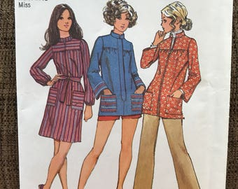 Smock Top/Dress Sewing Pattern UNCUT