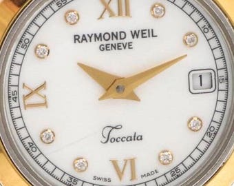 Raymond Weil Diamond Stainless Steel Watch