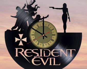 Resident Evil Poster Etsy
