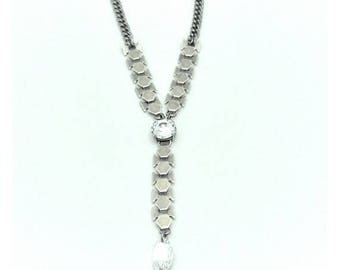 Spearhead pendant, Arrowhead pendant, Modern necklace, Pendant necklace, Necklace for her, Women necklace, Lariat necklace, Long pendant