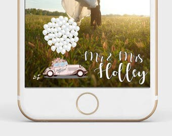 Wedding Snapchat Filter, Snapchat Geofilter Wedding, Elegant Snapchat Filter, Wedding, Custom Wedding Filter
