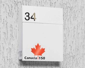 Modern mailbox - Canada - 150