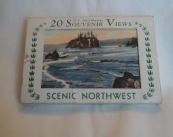 Vintage Scenic Northwest  postcard  mailer