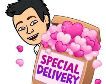 Valentines Day Slime Mystery Box