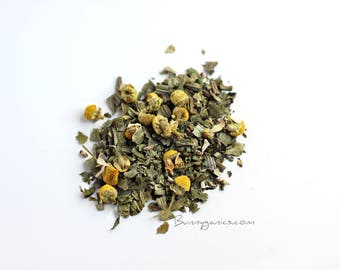Organic Dried Plantain and Chamomile for Bunny Rabbit and Guinea Pig