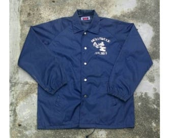 Free Shipping !! Vintage Hollywood MICKEY Coach Jacket