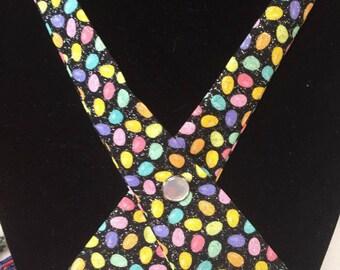 Criss Cross Egg Glitter