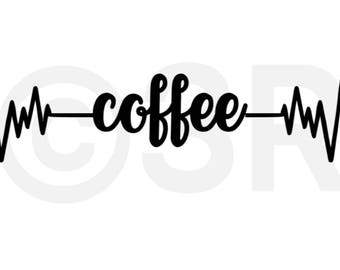 Coffee Cup Computer Decal