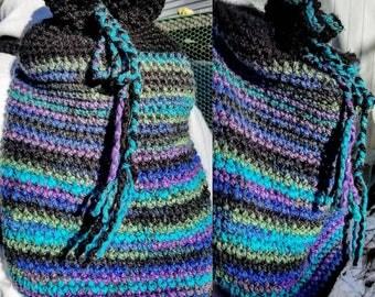 Sac à dos en Crochet multi couleur