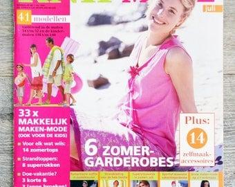 Sewing Knipmode 7 Magazine - July 2004