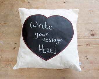 Chalkboard Cushion