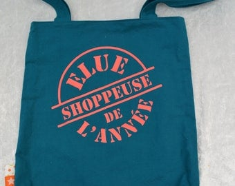 """Tote bag lined handmade """"one image of the year"""""""