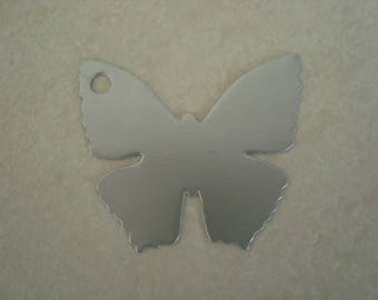Cardstock color Butterfly gray glue