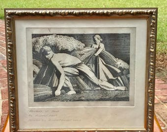 Restrike of Rockwell Kent Print by Richard Fennell
