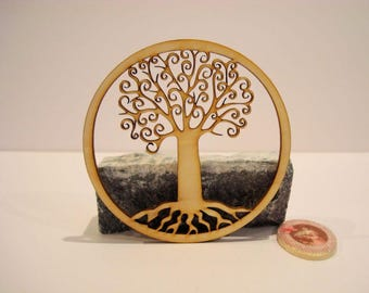 Tree of life sized 1979B embellishment wooden creations