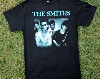 THE SMITHS BLACK t shirt