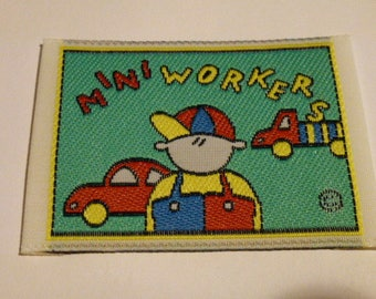 applique sewing patch for children's clothing customization