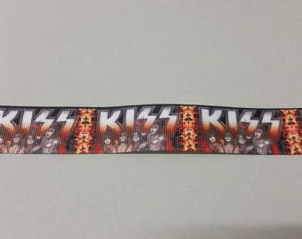 Gros Grain - Kiss - 25 mm Ribbon