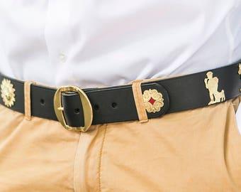 Appenzeller belt / gold in 5 colors
